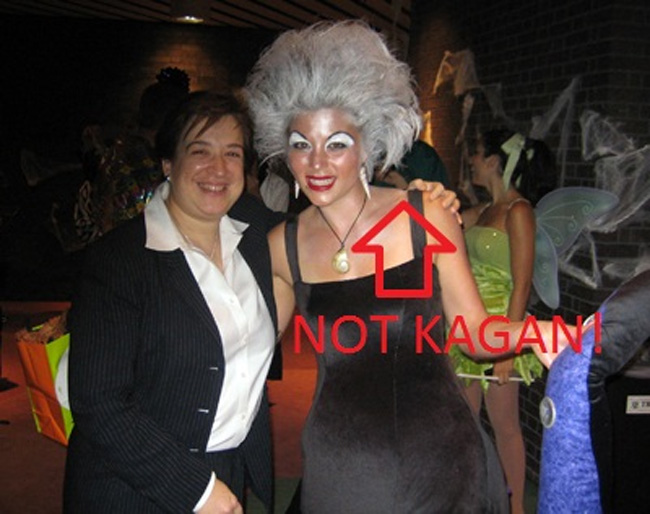 Elena Kagan Dresses Up As Herself at Costume Parties
