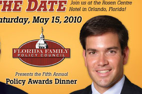 At Marco Rubio's Florida Family Policy Council Dinner, The Big Question Is: The Fish or The Steak?