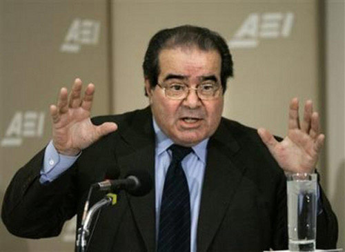 Antonin Scalia Knows Gays So He Obviously Doesn't Hate Them