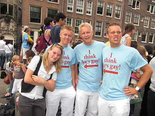 What Does a Fake Homosexual Look Like In Amsterdam?
