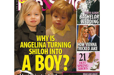 If Angelina Jolie Says Daughter Shiloh 'Wants To Be a Boy,' Can the Tabloids?