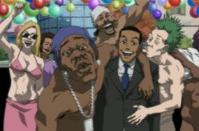 Is There a Remote Chance The Boondocks' Jokes About Prison Rape Help The Problem?