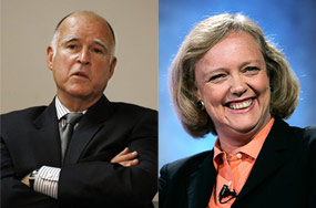 Meg Whitman's Bad, But Did Jerry Brown Need To Call Out Her Nazism?