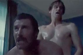 Jim Carrey Is Giving This Muscle Daddy a Pounding
