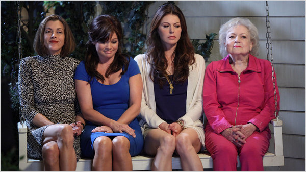 Hot In Cleveland Didn't Wait to Make 'Ryan Seacrest Is a Big Queen' Joke