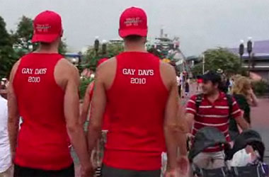 Should Disney Give Hetero Families Refunds If They're Scared of the Homos on Gay Days?
