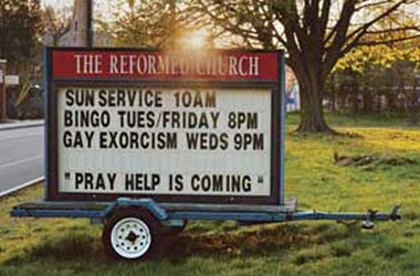 Why Are Exorcisms So Ineffective In Ridding Us of Our Homosexual Demons?