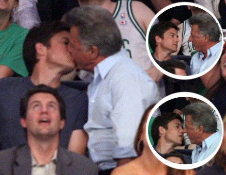 Dustin Hoffman + Jason Bateman Ruin a Perfectly Good Heterosexual Basketball Game