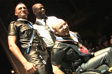 Tyler McCormick, International Mr. Leather's First Wheelchair-Rolling Trans Winner