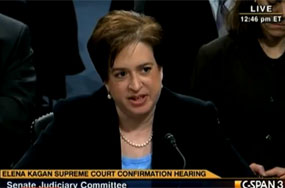 Elena Kagan Isn't Going to Tell You What She Thinks About Gay Marriage