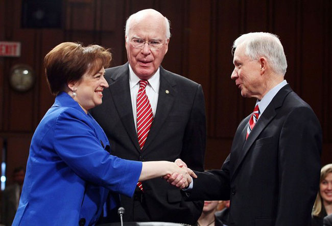 Sen. Jeff Sessions Will Never Forget How Elena Kagan Treated Fragile Military Recruiters