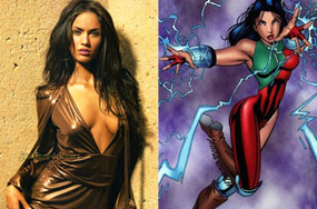Will Megan Fox Ever Get To Play A Lesbian Native American Superhero?