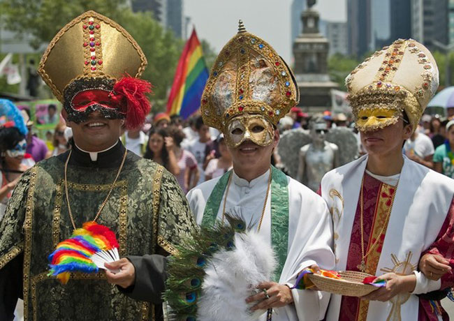 Who Knew the Catholic Church Would Make an Appearance at Mexico City Pride?