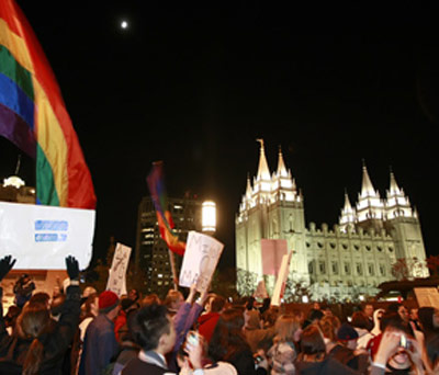 Mormon Leader's Rhetoric On Marriage Equality Not Matched By Church Action