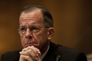 Adm. Mike Mullen Can't Believe Marine Chief Is Publicly Bashing DADT Repeal Effort