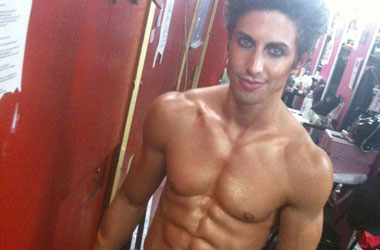 Nick Adams & Co. Bare All For Broadway Cares