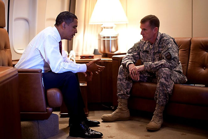 What Sort of Punishment Will Gen. Stanley McChrystal Enjoy For Slamming Obama?