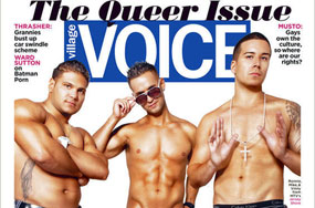 Jersey Shore Meatheads 'Tricked' Into Posing for Gay Guido Cover Story