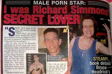 Richard Simmons Might've Given an Oily Body Massage to a Porn Star in the 80s