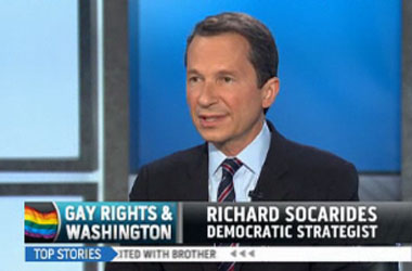 Richard Socarides Blasts Obama's 'Missed Opportunity' to Support Gay Marriage. What About Yours, Richard?