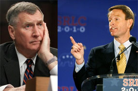 Gen. John Sheehan + Tony Perkins Very Worried Out Gays Will Spread HIV Across the Military