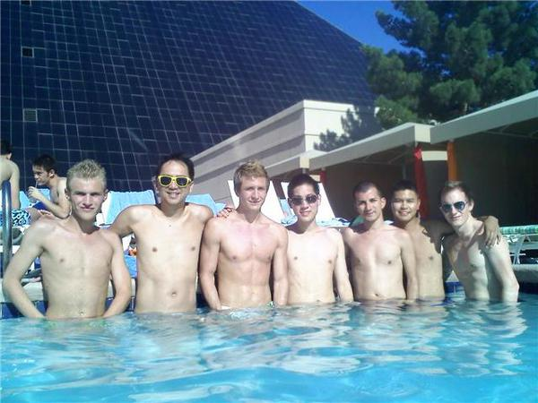 Gays In The Pool