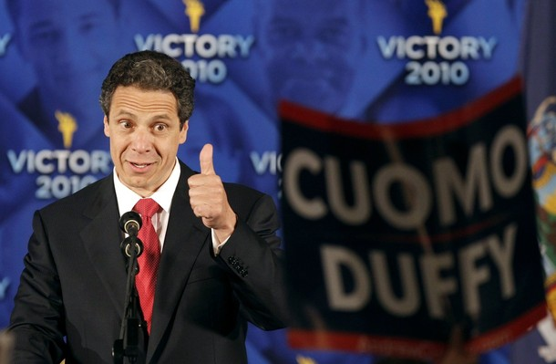 How Come None of NY's Gay Groups Are Criticizing Gov Hopeful Andrew Cuomo?