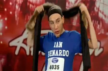 American Idol 'Made' Ian Bernardo Play Up His Gayness, For Which He Wants $300 Million