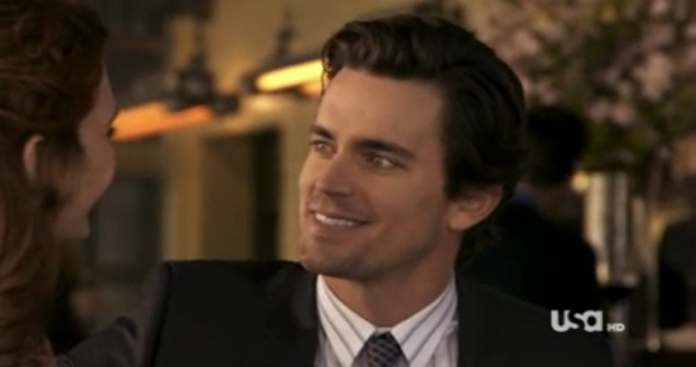 Matt Bomer's Heterosexual White Collar Con Man Purposefully Strikes Out With the Ladies