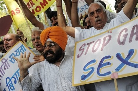 How To Unite India's Hindus, Christians, Muslims, Sikhs? By Backing the Re-criminalization of Homosexuality