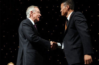 Dan Choi Forces Sen. Harry Reid To Confiscate West Point Ring