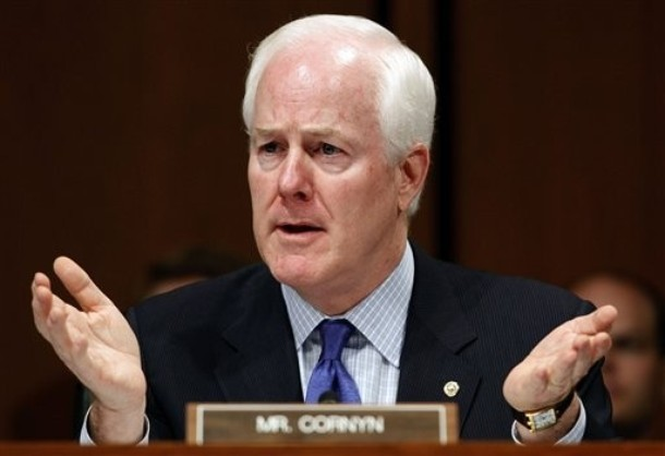 Why Did Texas Sen. John Cornyn Accept Log Cabin's Fundraising Gala Invite? To Court Queer Dollars, Of Course
