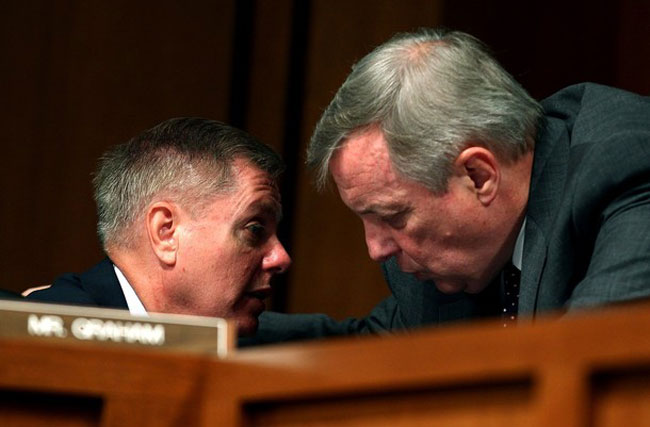 Sen. Lindsey Graham Starts His Own Rumors About Dating Ricky Martin