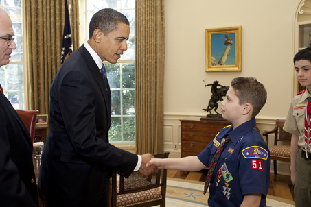 Did Obama Skp the Boy Scouts' 100th Anniversary Jamboree Because The Group Is Grossed Out By Gays?