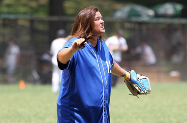 Does This Softball Uniform Make Rosie O'Donnell Look Lez?