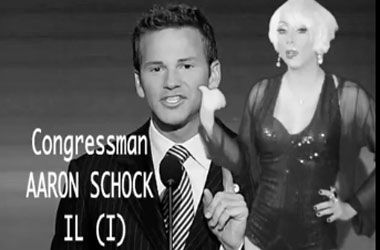 It's About Time a Lady Gaga Song Was Used to Out Rep. Aaron Schock