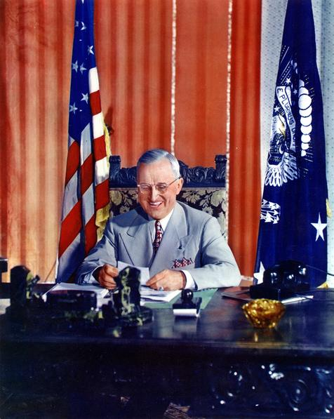 a biography of harry s truman an american president Harry s truman biography us president harry truman became president of the united states after the death of franklin roosevelt on 12 april 1945.