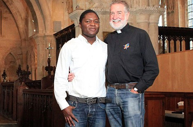 The Catholic Vicar Set to Marry His Much Younger Boyfriend. In A Church