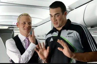 Air New Zealand's Safety Video Backlash: Gay Rugby Kiss Scene Yanked Over Complaints