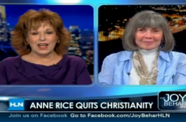 It's Not Like Anne Rice's Gay Son Christopher Is Why She Quit Christianity