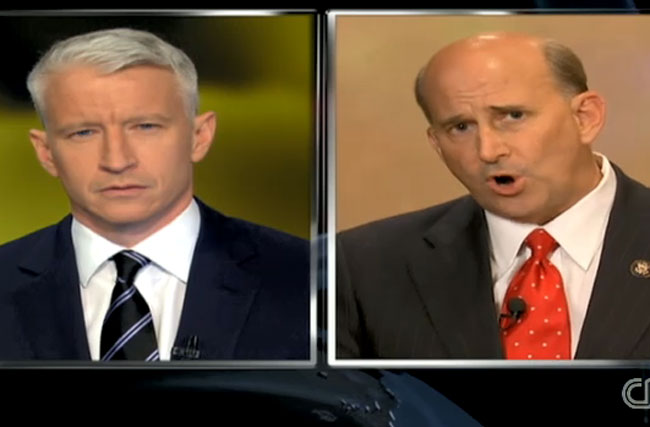 Anderson Cooper v. Rep. Louie Gohmert: The Awesome 'Terrorism Baby' Argument That Went Nowhere
