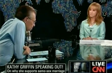 Kathy Griffin, Dick Joke Teller and Gay Rights Expert