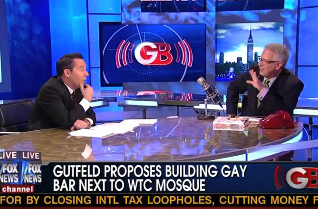 Greg Gutfeld's Gay Bar Will Have 72 Virgin Drinks