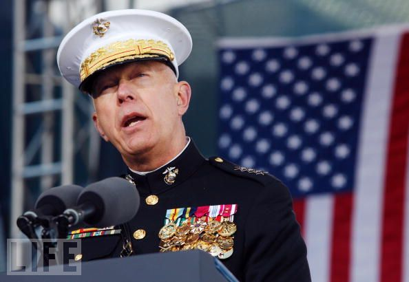 Marine Chief Gen. James Conway: Straight + Gay Soldiers Living Together Must Be 'Voluntary'