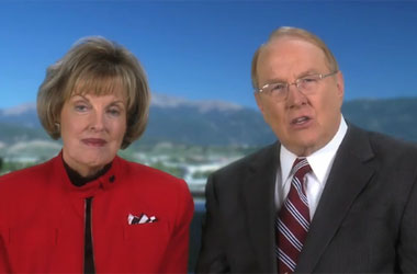 Why James + Shirley Dobson Couldn't Go To Glenn Beck's Rally: 50 Year Anniversary of Opposite Marriage