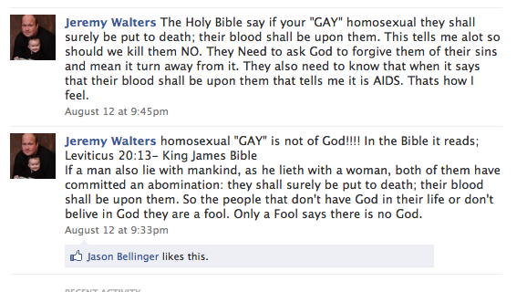 Will Nobody Accept GOP House Candidate Jeremy Walters' Apology For Facebook Rant?