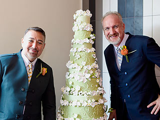Celeb Chef Art Smith + Jesus Salguerio Get Married In D.C. (After 4 Mile Run With Guests)