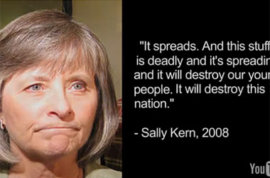 Oklahoma State Rep. Sally Kern Warns GOP: Gay Activists Attempting to Secure Freedom + Equality For All