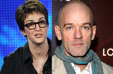 Watch Out For the U-Haul on Jane Street: Rachel Maddow Bought Michael Stipe's House
