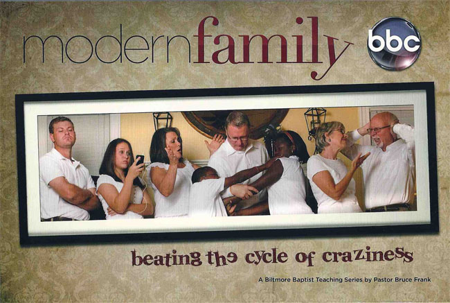 Anti-Gay North Carolina Baptist Church Stealing Modern Family's Marketing